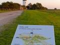 Übersicht über das Areal rund um den Leuchtturm